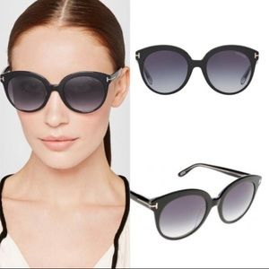 Tom Ford Monica Sunglasses (Black)
